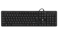 Клавиатура 2E KS 107 Slim USB Black (2E-KS107UB)