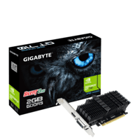 Видеокарта Gigabyte GeForce GT710 2GB DDR5 Silent (GV-N710D5SL-2GL)