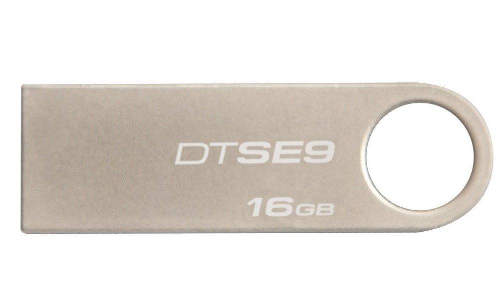 Накопичувач USB 2.0 KINGSTON DTSE9 16GB (DTSE9H/16GB) фото1