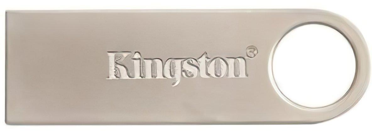 Накопичувач USB 2.0 KINGSTON DTSE9 32GB Metal Silver (DTSE9H/32GB) фото