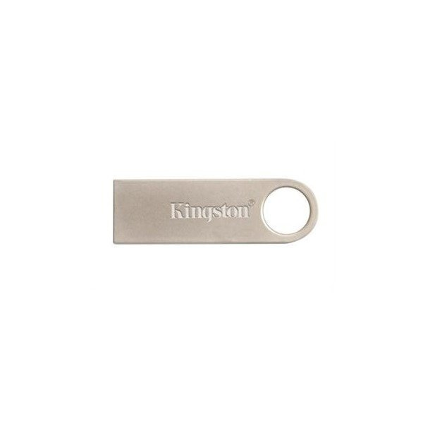 Накопичувач USB 2.0 KINGSTON DTSE9 64GB Metal Silver (DTSE9H/64GB) фото