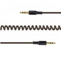 Кабель MiniJack Cablexpert 3.5 мм (M/M) спираль 1.8м (CCA-405-6)