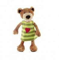 Мягкая игрушка Sigikid Мишка в платье 40 см (38407SK)