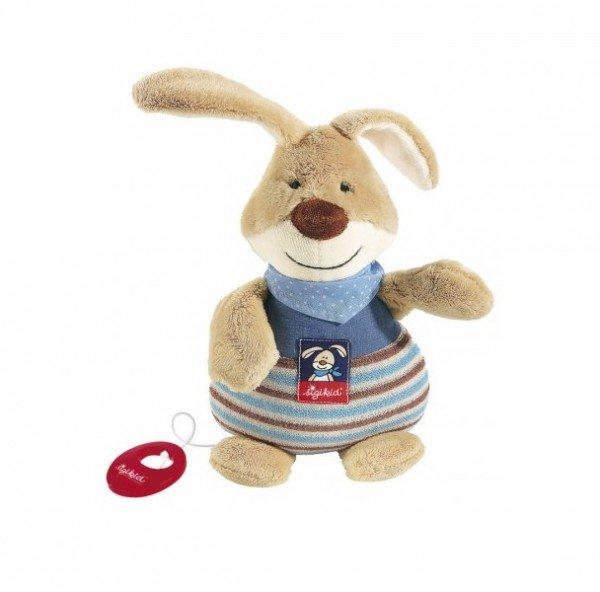 Купить Мягкая музыкальная игрушка sigikid Кролик 25 см 47894SK
