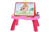 Обучающий стол Same Toy My Art centre розовый (8806Ut)