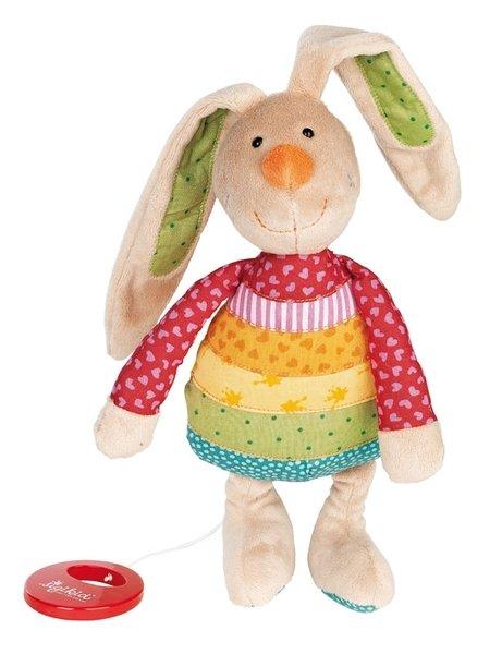 Купить Мягкая музыкальная игрушка sigikid Кролик 27 см 40577SK