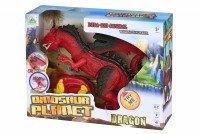 Динозавр Same Toy Dinosaur Planet Дракон красный со светом и звуком RS6139Ut