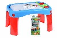 Обучающий стол Same Toy My Fun Creative table с аксесуарами (8810Ut)