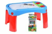 Обучающий стол Same Toy My Fun Creative table с аксесуарами (8810Ut)