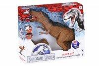 Динозавр Same Toy Dinosaur World коричневый со светом и звуком RS6123Ut