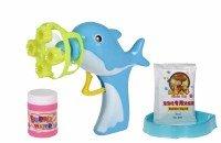 Мыльные пузыри Same Toy Bubble Gun Дельфин голубой (802Ut-1)