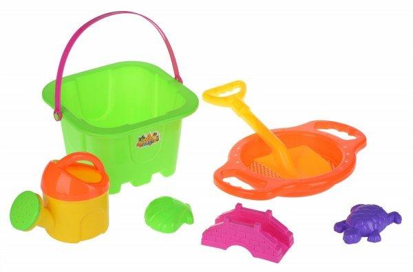 Купить НабордляигрыспескомSameToy7единицзеленый(HY-1143WUt-2), Same Toy