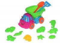 Набор для игры с песком Same Toy 11 единиц голубой/зеленый (B011-Cut-2)