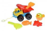 Набор для игры с песком Same Toy Грузовик 6 единиц желтый (919Ut-2)