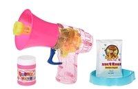 Мыльные пузыри Same Toy Bubble Gun Рупор со светом розовый (925AUt-2)