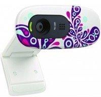 Веб-камера Logitech C270 HD White Paisley (960-000918)