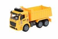 Машинка инерционная Same Toy Truck Самосвал со светом и звуком желтый (98-614AUt-1)