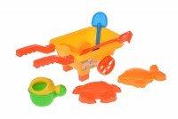 Набор для игры с песком Same Toy 6 едениц желтый (B015-But-1)