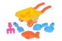 Набор для игры с песком Same Toy 6 единиц желтый (B015-Eut-1)
