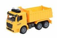 Машинка инерционная Same Toy Truck Самосвал со светом и звуком желтый (98-611AUt-1)