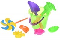 Набор для игры с песком Same Toy с воздушной вертушой (HY-1207WUt-1)