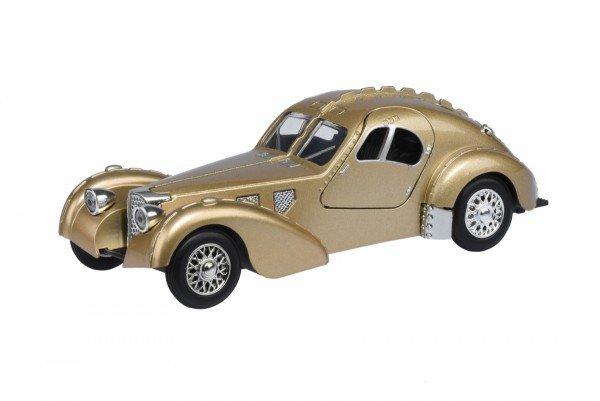 Купить Автомобиль Same Toy 1:28 Vintage Car со светом и звуком золотой (HY62-2Ut-6)