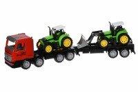 Машинка інерційна Same Toy Super Combination Тягач з трактором і бульдозером червоний (98-90Ut-1)
