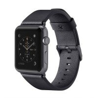 Ремешок Belkin для Apple Watch 38mm Belkin Classic Leather Band Black