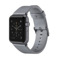 Ремешок Belkin для Apple Watch 38mm Belkin Classic Leather Band Grey