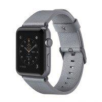 Ремешок Belkin для Apple Watch 38mm Belkin Classic Leather Band Grey