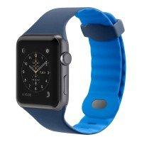 Ремешок Belkin для Apple Watch 38mm Belkin Sport Band Blue