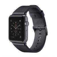 Ремешок Belkin для Apple Watch 42mm Belkin Classic Leather Band Black