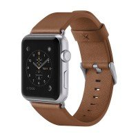 Ремешок Belkin для Apple Watch 42mm Belkin Classic Leather Band Brown