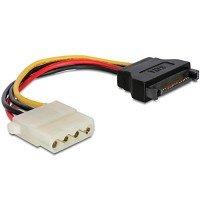Cablexpert кабель питания (Molex) F + SATA кабель питания, 150 мм (CC-SATA-PS-M)
