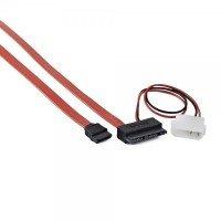 Cablexpert дата кабель (Molex)+SATA на MicroSATA, 250 мм (CC-MSATA-001)