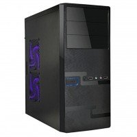 Корпус ПК DELUX DLC-MD215 (black) 400W