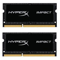 Память для ноутбука HyperX SO-DIMM DDR3 1600 16GB Impact (HX316LS9IBK2/16)