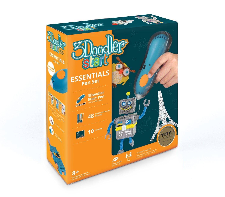 3D-ручка 3Doodler START КРЕАТИВ, 48 стержней (3DS-ESST-MULTI-R-17) фото