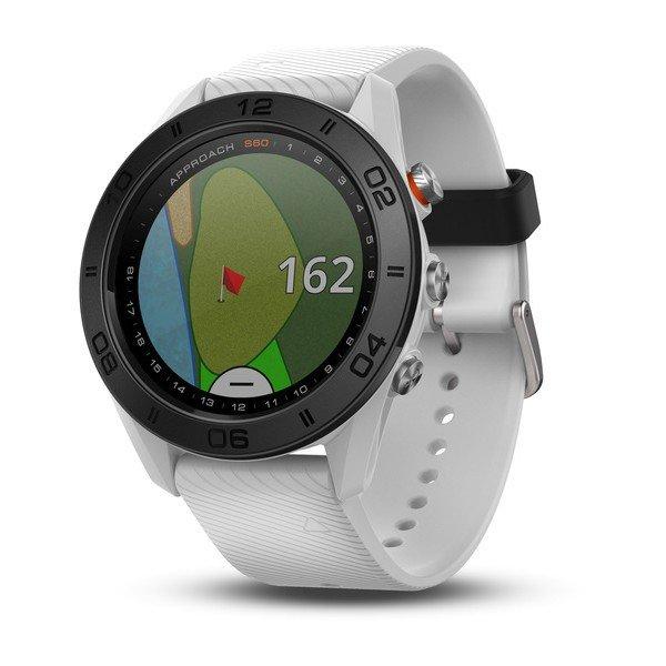 ≡ Смарт-часы Garmin Approach S60 White – купить в Киеве  fa0c235a1a71e