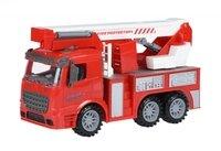 Машинка інерційна Same Toy Truck Пожежна машина з підйомним краном (98-617Ut)