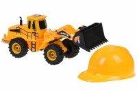 Набор машинок Same toy Builder Трактор + каска (R1808Ut)