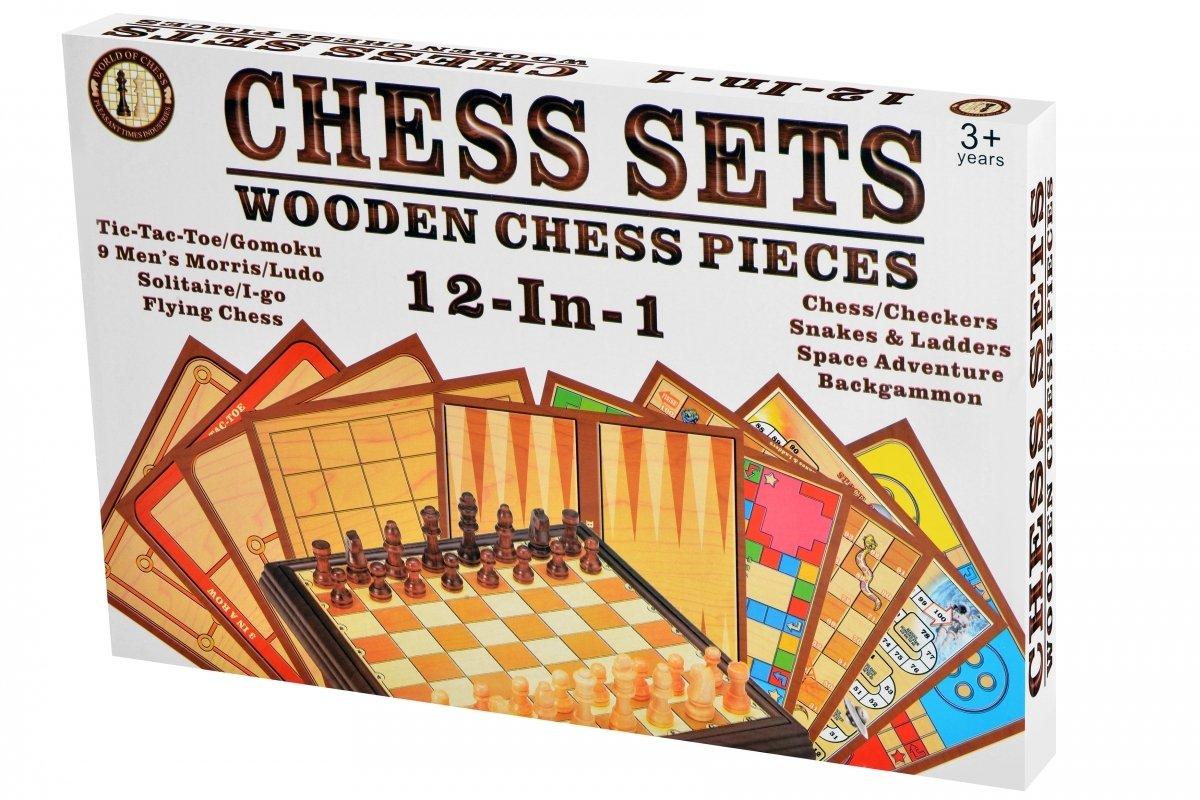 Настольная игра Same Toy Шахматы 12в1 (522Ut) фото 1
