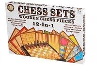 Настольная игра Same Toy Шахматы 12в1 (522Ut)