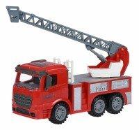Машинка інерційна Same Toy Truck Пожежна машина з драбиною (98-616Ut)