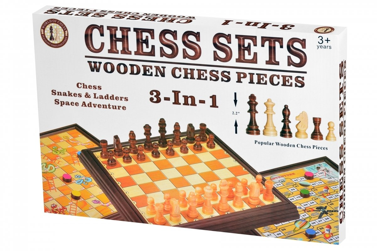 Настольная игра Same Toy Шахматы 3в1 (518Ut) фото 1