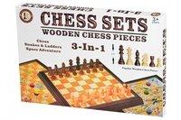 Настольная игра Same Toy Шахматы 3в1 (518Ut)