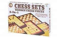 Настольная игра Same Toy Шахматы 5в1 (520Ut)