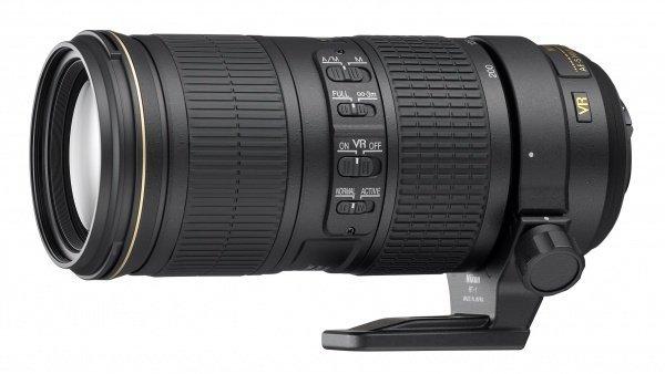 Купить Объектив NIKON AF-S 70-200 mm f/4G ED VR (JAA815DA)