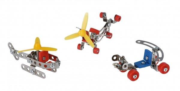Купить Конструктор металлический Same Toy Inteligent DIY Model Car 3в1 117 элементов (58042Ut)