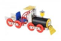 Конструктор металлический Same Toy Inteligent DIY Model Car Паравоз 117 элементов (58033Ut)